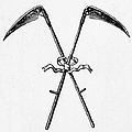 Scythes, 19th Century by Granger