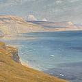 Sea And Sunshine   Lyme Regis by Sir Frank Dicksee