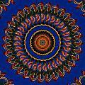 Sea Gypsy Mandala by Bill Barber