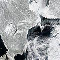 Sea Ice Lines The Coasts Of Sweden by Stocktrek Images