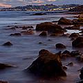 Sea Rocks Land by Perry Van Munster