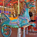 Sea Serpent Carousel Ride by Mary Deal