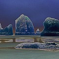 Sea Stacks On The Oregon Coast by One Rude Dawg Orcutt