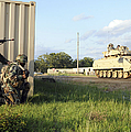 Seabees Prepare To Assault A Simulated by Stocktrek Images