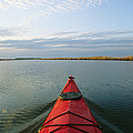 Seakayak Bow Parts The Rippled Water by Skip Brown