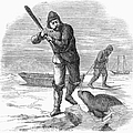 Seal Hunting, 1867 by Granger