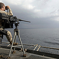 Seaman Scans The Ocean by Stocktrek Images