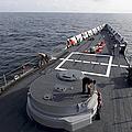 Seamen On The Forecastle by Stocktrek Images