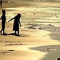 Seaside Siblings by Charles Shedd