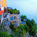 Seaside Villa Amalfi by Bill Cannon