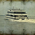 Seastreak Catamaran - Ferry From Atlantic Highlands To Nyc by Mother Nature