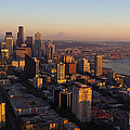Seattle Blue Hour by Heidi Smith