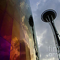 Seattle Emp Building 12 by Bob Christopher