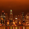 Seattle Skyline by Michael Merry
