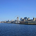 Seattle Waterway Cityscape by Kym Backland