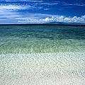 Secluded White Sands Beach by James Forte