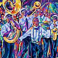 Second Line by Elaine Adel Cummins