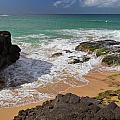 Secret Beach Kauai by Roger Mullenhour