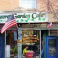 Secret Garden Cafe by Kay Novy