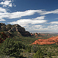 Sedona Arizona Vista by Elizabeth Rose