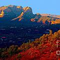 Sedona Vii by Christine S Zipps