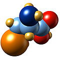 Selenocysteine, Molecular Model by Dr Mark J. Winter