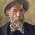 Self Portrait by Pierre Auguste Renoir