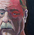 Self Portrait With Shingles by Paul Chapman