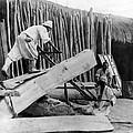 Seoul Korea - Men Sawing Lumber by International  Images