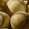 Sepia Baseballs by Bill Owen