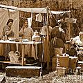 Sepia Historical Reenactment by Anne Ferguson