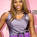 Serena Williams At The Press Conference by Everett