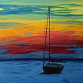 Serene Sunset by Tony Baker