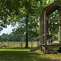 Settlers Cabin Arkansas 1 by Douglas Barnett