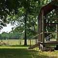 Settlers Cabin Arkansas 2 by Douglas Barnett
