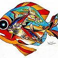 Seven Fish by J Vincent Scarpace