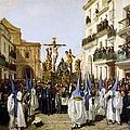 Seville: Good Friday, 1862 by Granger
