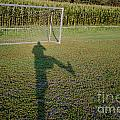 Shadow From A Football Player by Mats Silvan
