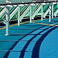 Shadows And Railings by Kirsten Giving