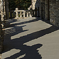 Shadows Cast On The Porch Of Gillette by Todd Gipstein