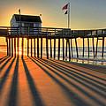 Shadows On The Shore by John Loreaux