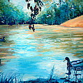 Shady Springs Pond by Gretchen Allen