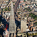 Shard London Aerial View by Gary Eason