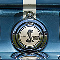 Shelby Cobra Gt 500 Emblem by Jill Reger