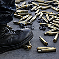 Shell Casings From A .50 Caliber by Stocktrek Images