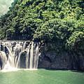 Shifen Waterfall by Cjfan