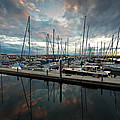 Shilshole Marina Tranquility by Mike Reid