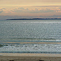 Shimmering Sunlight Upon The Sea by Nancy Griswold