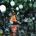 Shiny Tree In Bienville Square by Michael Thomas