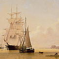 Ship Painting by WF Settle